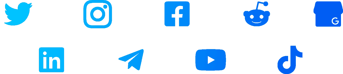 9 icons gradient