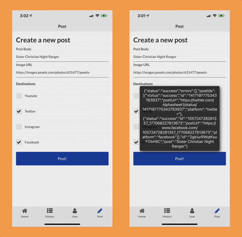 mobile posts